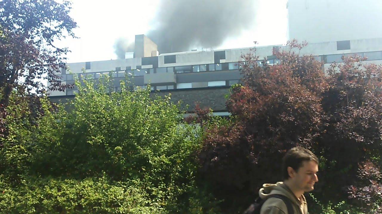 Brand In Darmstadt