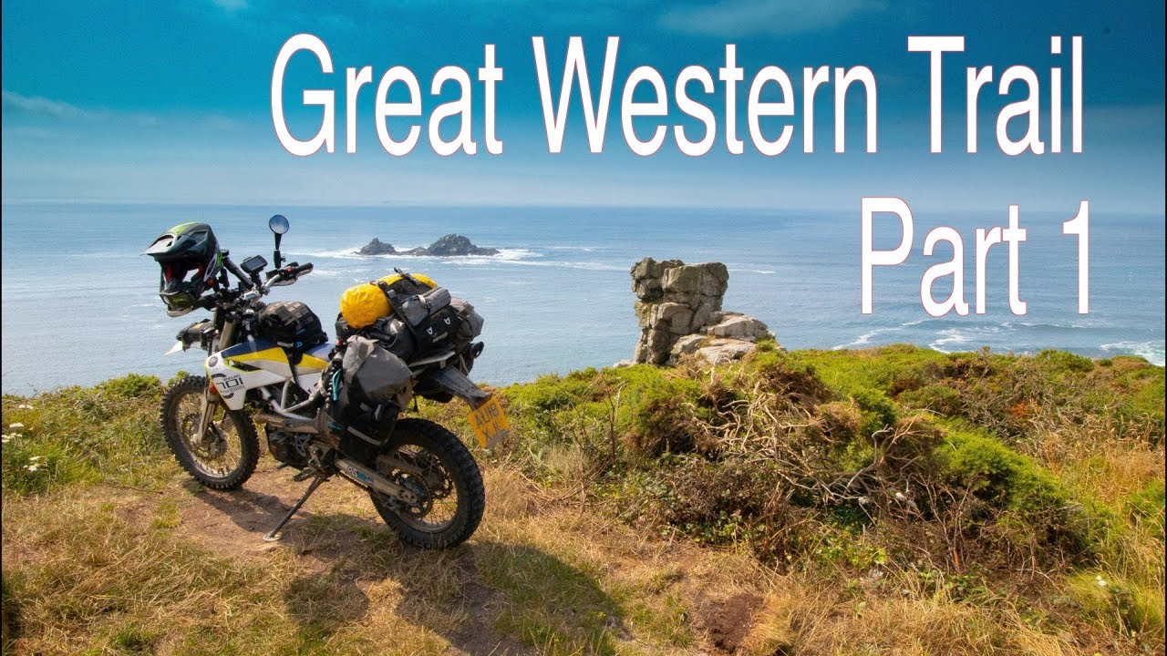 Download Great Western Trail (TET UK) off road camping trip by bike - PART 1