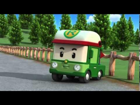 Робокар Поли - Трансформеры - Мечта Бэни (мультфильм 11)