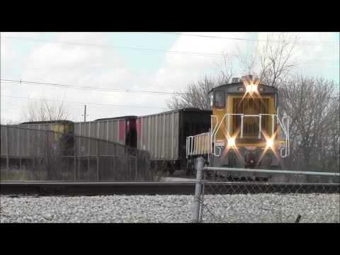 CRANDIC Coal Train Heading to C St Power Station