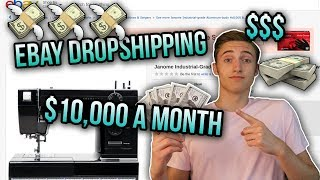 How To Make $10,000 A Month FAST Dropshipping On Ebay! | 3 Tips For Success