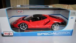 Unboxing - 1:18 Scale Maisto Lamborghini Centenario