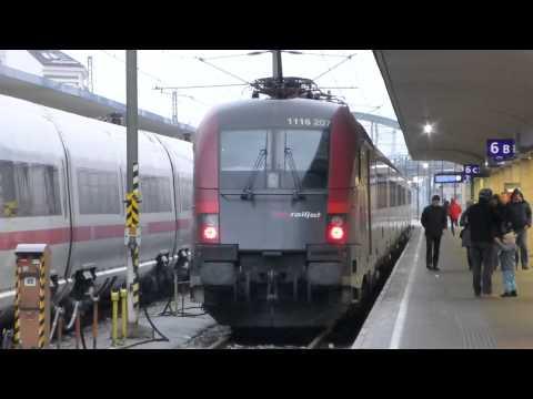 ÖBB-Wien - Der Bahnhof Westbahnhof [1080p-HD]