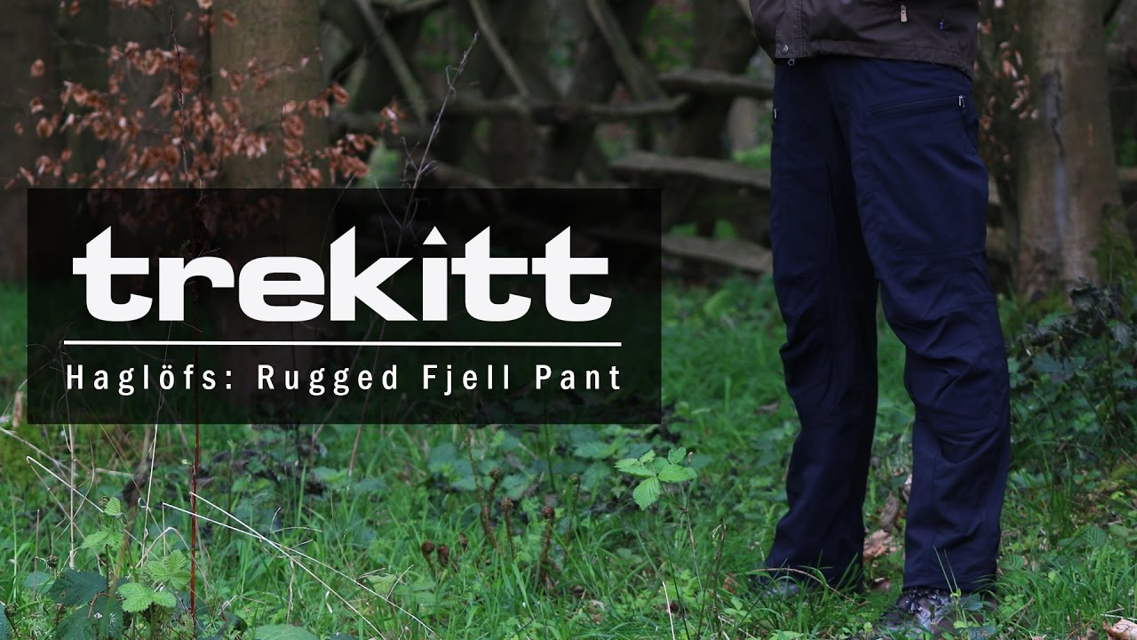 Inside Look Haglofs Rugged Fjell Pant Youtube
