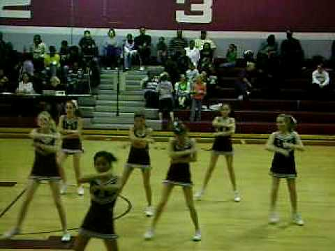 Lakeside Middle School Cheerleading.