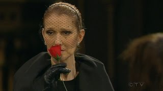 Celine shares her grief as the public remembers Angelil(Even in grief, Celine Dion paid respect to her many fans who came out to mourn Rene Angelil. Subscribe to CTV News to watch more videos: ..., 2016-01-22T05:09:43.000Z)