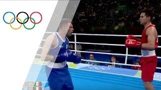 First professional boxer competes at the Olympics