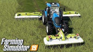 Koszenie i zgrabianie trawy - Farming Simulator 19 | #13