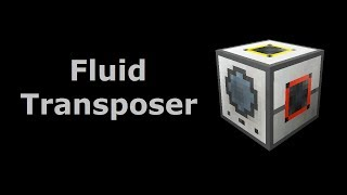 Fluid Transposer (Tekkit/Feed The Beast) - Minecraft In Minutes