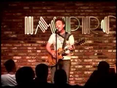 Brian Haner performs