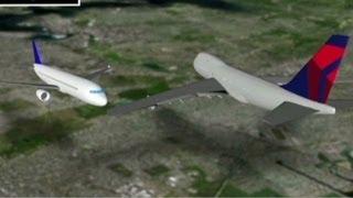 near collision midair over nyc