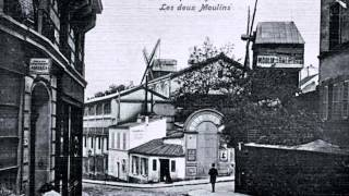 "Gus Viseur "" rue Lepic "" 1950"