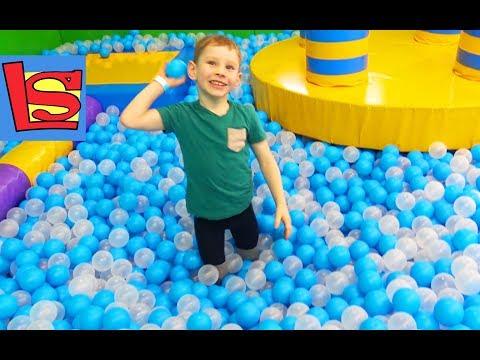 Детская игровая площадка Замания Город развлечений лабиринт тарзанка