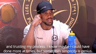 Anthony Joshua Says He Kept It Simple En Route To A 'Genius Performance' thumbnail