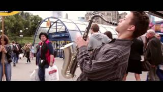 JAZZ IT Flash Mob in Warsaw/muppet show theme (live)