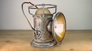 1960s Rusted Military Lantern Restoration thumbnail