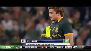 Sports - Rugby:-Patrick Lambie retires