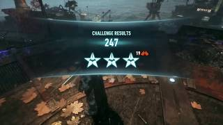 Batman Arkham Knight AR - Combo Master / Mestre dos Combos (3 estrelas; 247 pontos)