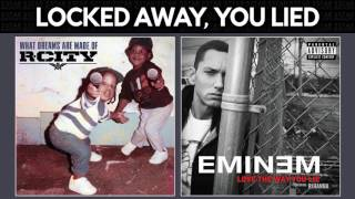 Locked Away vs. Love The Way You Lie [Eminem, R. City, Adam Levine, Rihanna] MASHUP