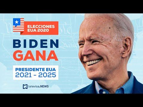 Biden da mensaje tras ganar las elecciones de Estados Unidos 2020