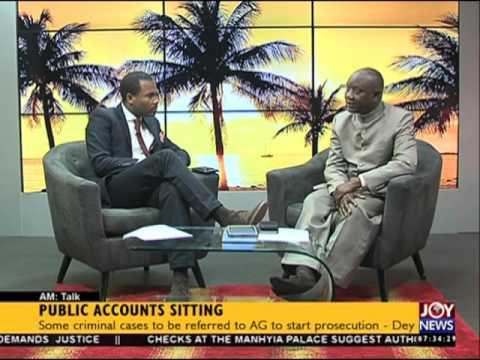 Public accounts sitting - AM Talk on Joy News (26-1-16)