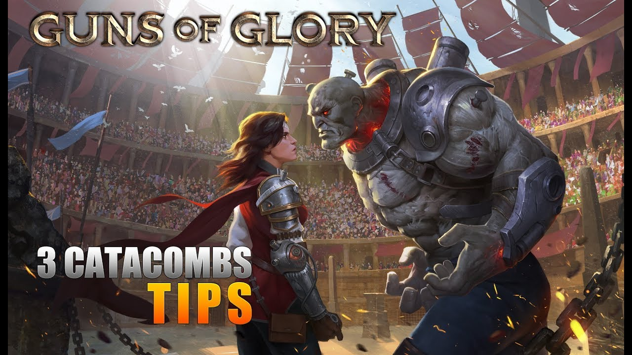 Guns of Glory - 3 Catacombs Tips