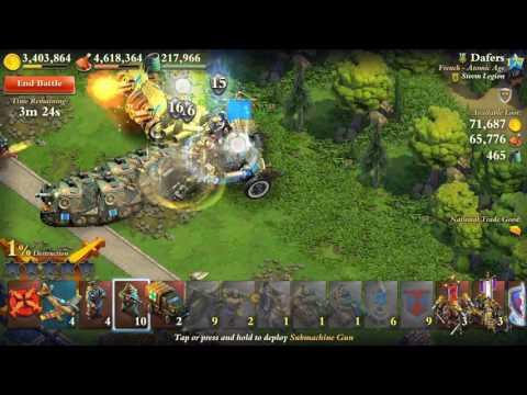11.11.2016 Dominations War attack 5* 100%
