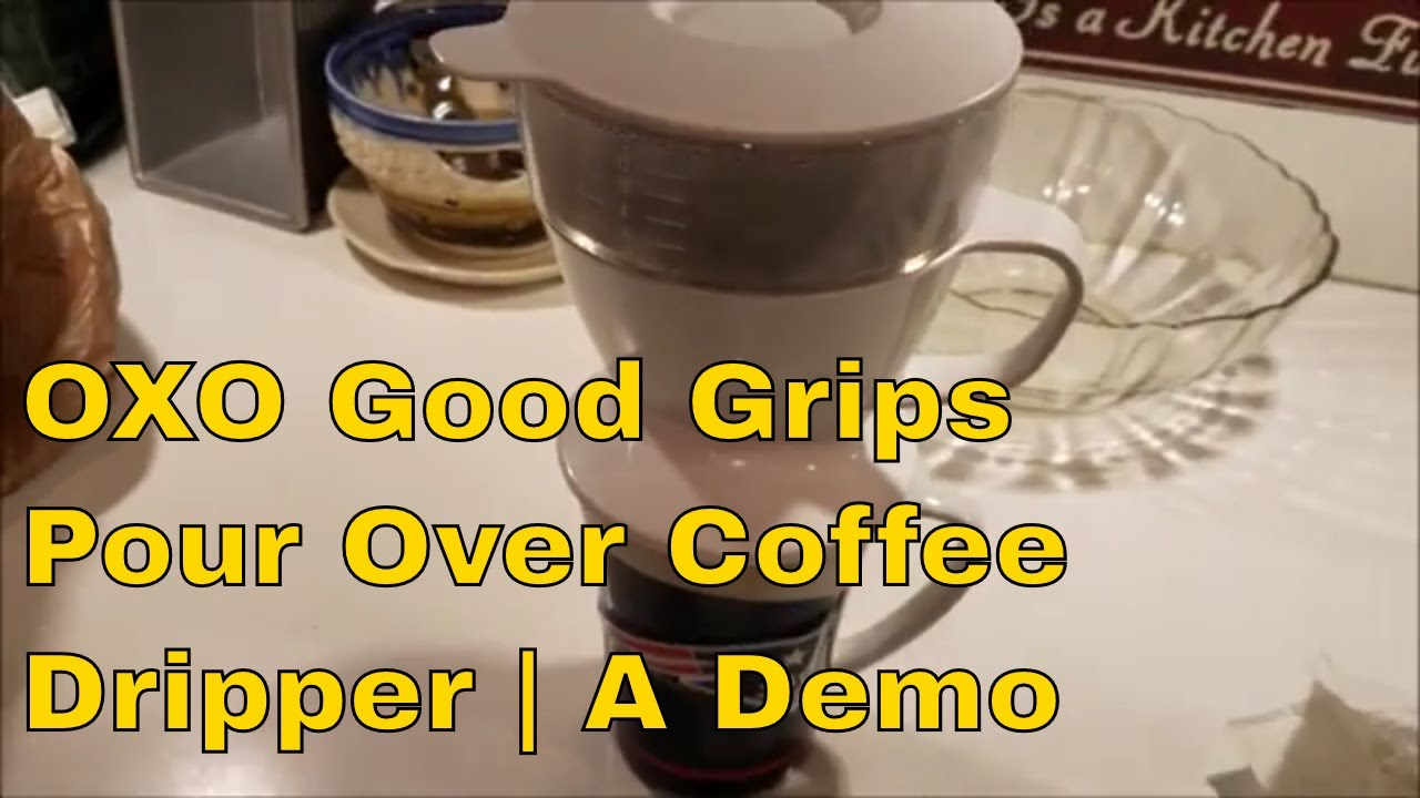 Review Over DripperA Good Pour Grips Coffee Oxo UVzpSM