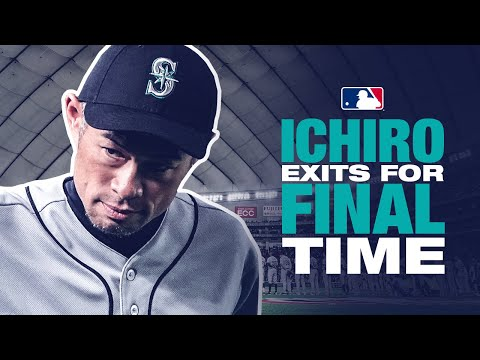 Ichiro Exits His Final Game To A Rousing Ovation