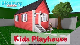EPIC Kids Playhouse   Bloxburg   Roblox   Mamabear
