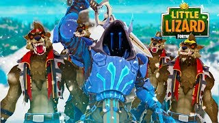 THE ICE KING HAS A WEREWOLF ARMY!!! - Fortnite Season 7 Short Film