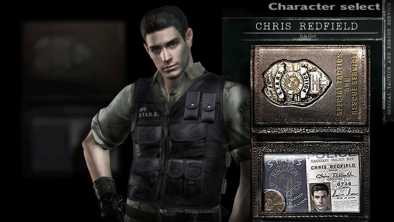 Chris Redfield Stars Outfit Code Veronica Skin Resident Evil Hd Remaster 1080p60