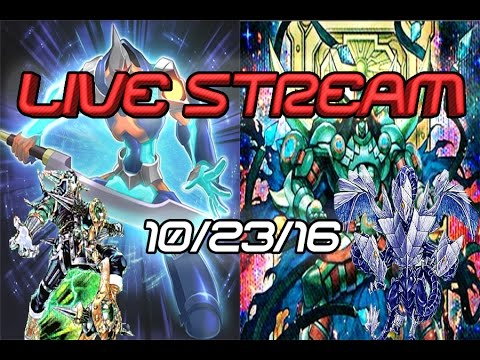 YGOPro Live Stream! Playing D/D/D, ABC, Viewers And More! (10/23/16)
