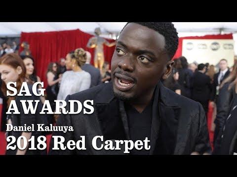 Download Youtube: Daniel Kaluuya On The SAG 2018 Red Carpet