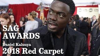 Daniel Kaluuya On The SAG 2018 Red Carpet