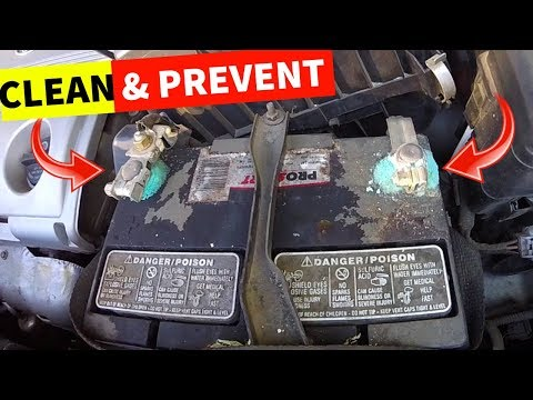 How To Clean & Prevent Battery Corrosion on your Car -Jonny DIY