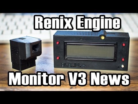 Renix Engine Monitor V3 Reveal and Future Ideas