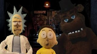 Rick And Morty Meets Five Nights At Freddy's