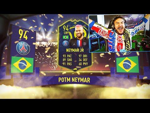 OMG I GOT 94 POTM NEYMAR!! GUARANTEED WINTER PACKS!! FIFA 20