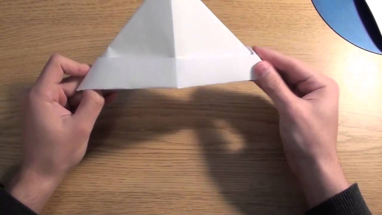 How to Make A Paper Sailor Hat Boat Metapod  YouTube