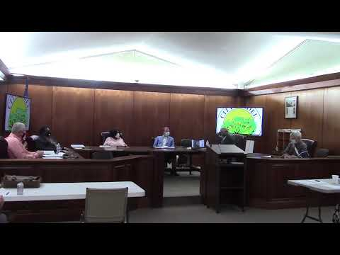 Budget & Wood Pellet Plant @ Adel City Council 2020-09-08