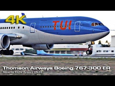 Thomson Airways Boeing 767-300 ER (Alicante) [4K]