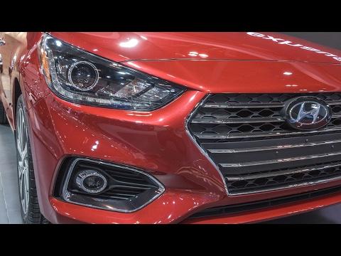 BIGGER,QUICKER,SAFER 2018 Hyundai Accent, debut at 2017 Toronto Auto Show