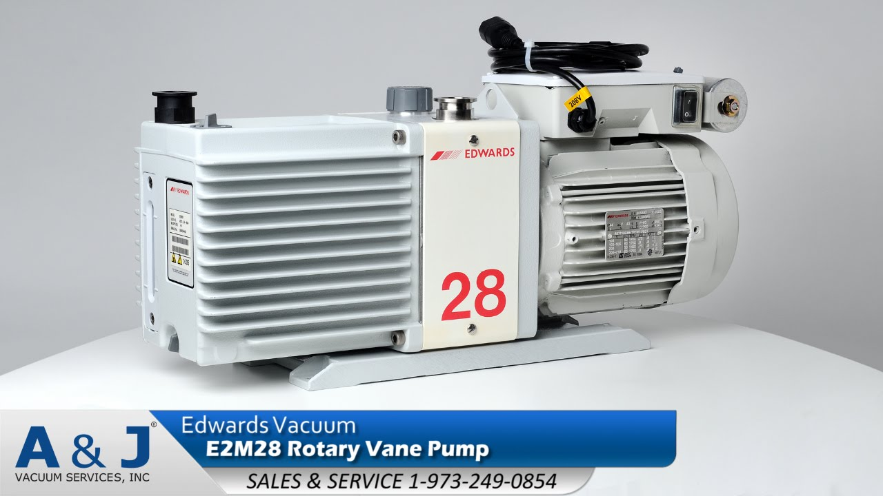 Edwards Vacuum E2M28 Rotary Vane Pump Overview