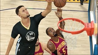 Can One 7 Foot 7 Steph Curry Defeat The Whole Cleveland Cavaliers Team? NBA 2K17 Challenge