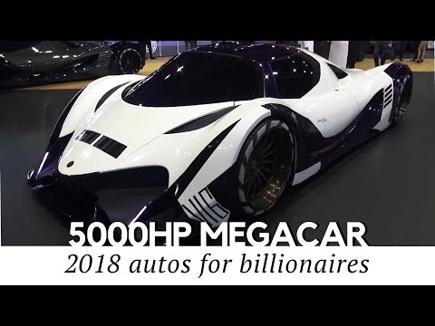 10 Rare Сars Only Billionaires Can Afford (Including Crazy 5,000hp Devel Sixteen)