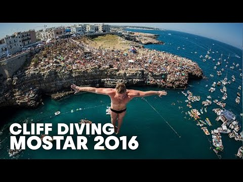 High Precision Diving in Polignano a Mare | Cliff Diving World Series 2016
