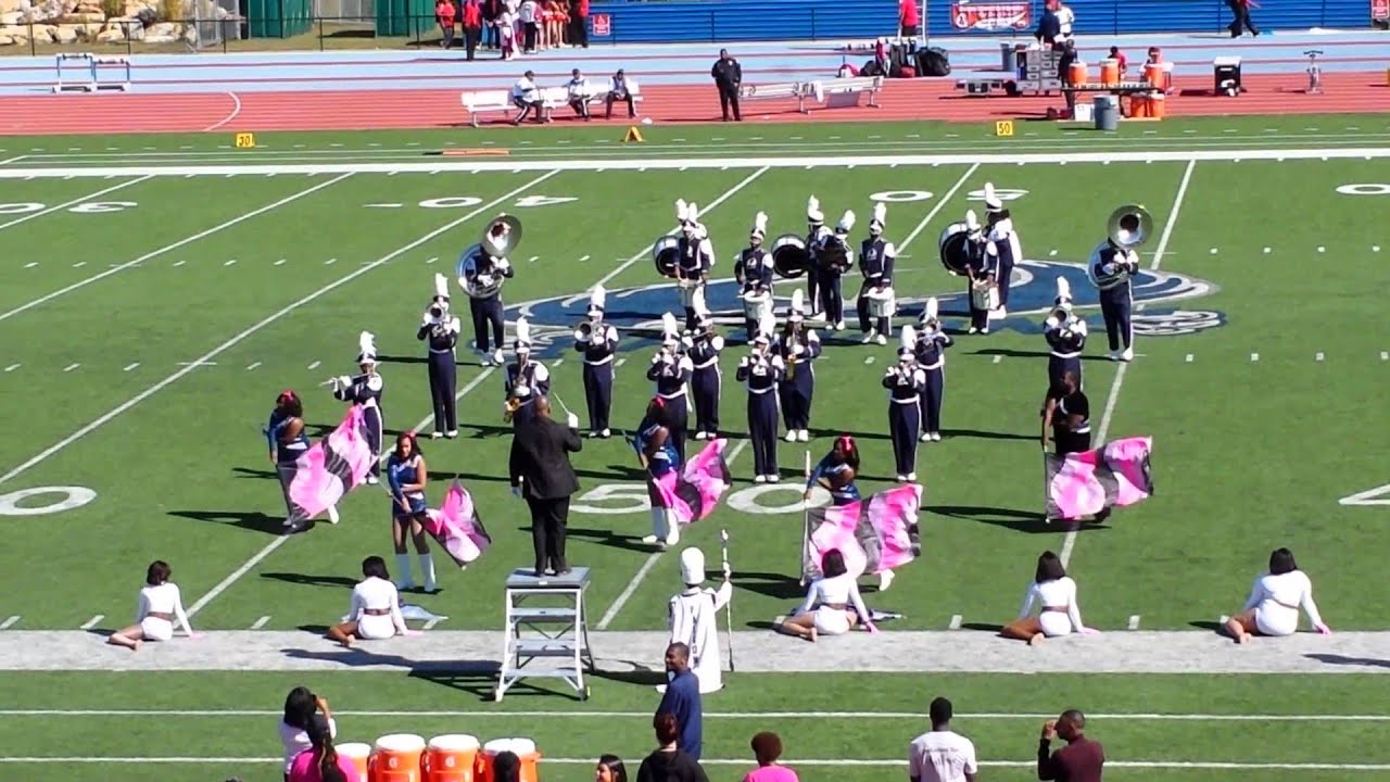 2015 St Augustine s University Marching Band 10 17 15