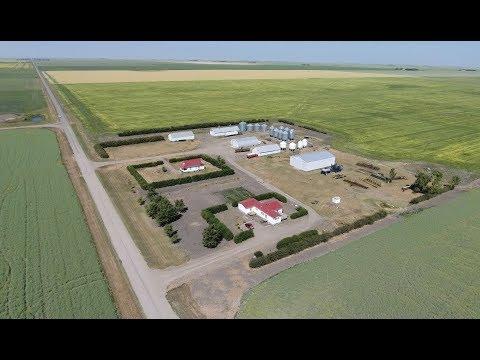 Canadian Farms. Richards Farms. South Saskatchewan. Canada #MYAGROTOURS