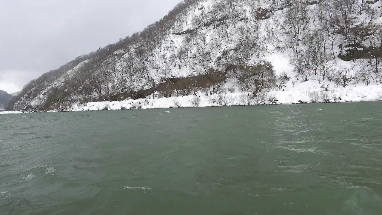 山形-最上川遊船(冬天) - YouTube